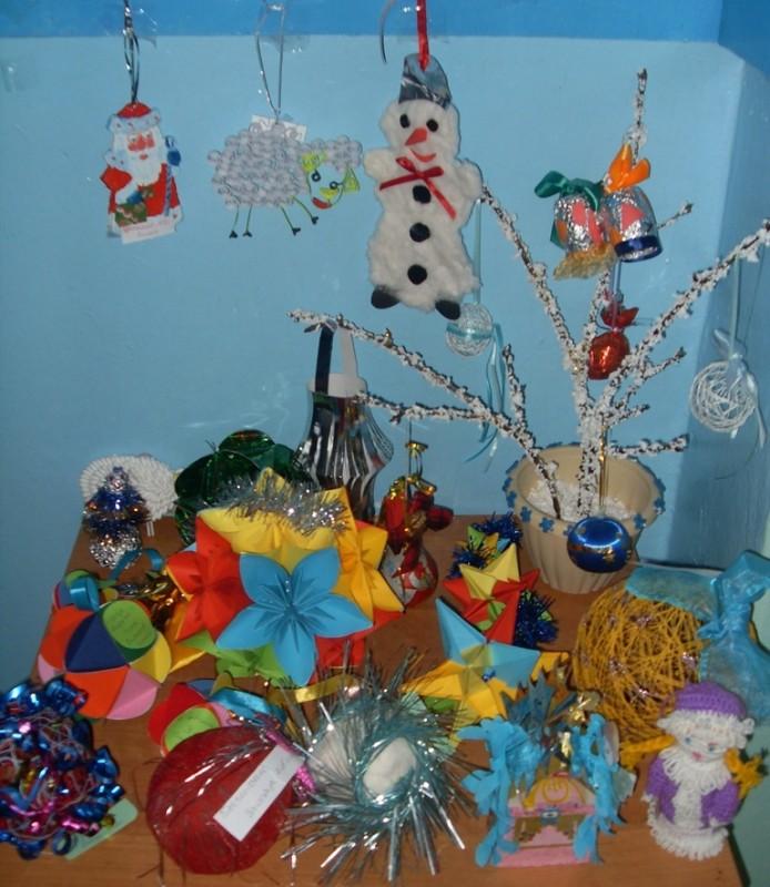Конкурс новогодних игрушек поделки